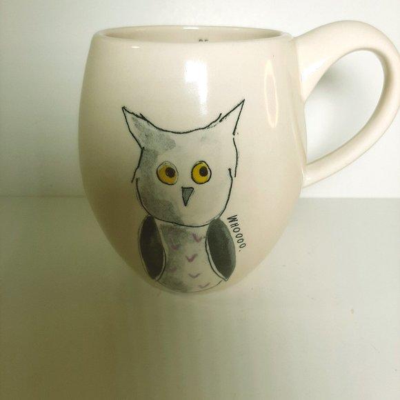 Be Whooo You Are Large Owl Mug M Studios Rae Dunn